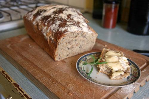 Italiensk grovbrød med Brie De Meaux