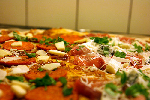 Peperoni og Parma