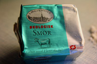 Økologisk Løgismose smør