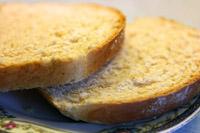 Skiver af toastbrød