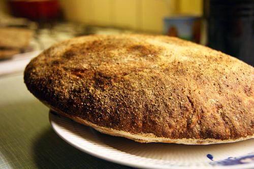 Sprødt Langtidshævet hvedebrød