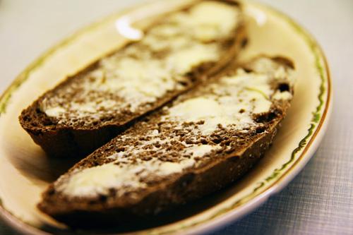 Maltbrød i skiver
