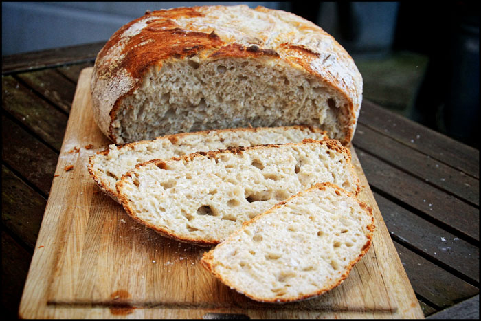 Brød i gryde kort hævetid