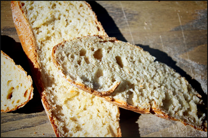 Francescone brød i skiver